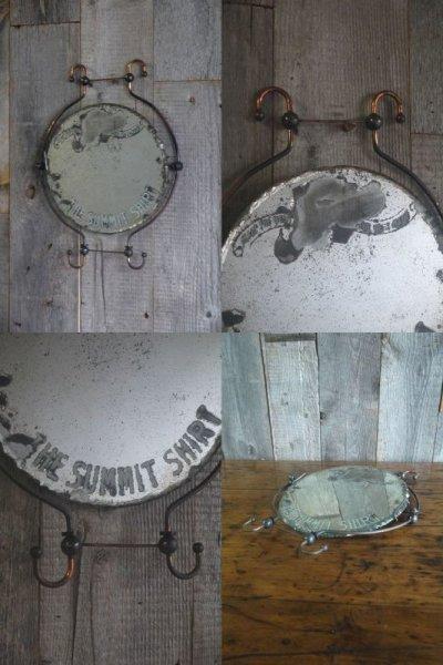 画像1: アンティーク THE SUMMIT SHIRT ウォールミラー