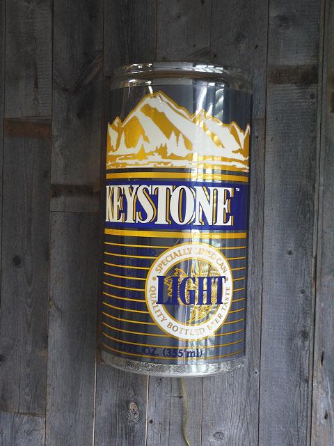 画像1: ビンテージ KEYSTONE ライトサイン (1)