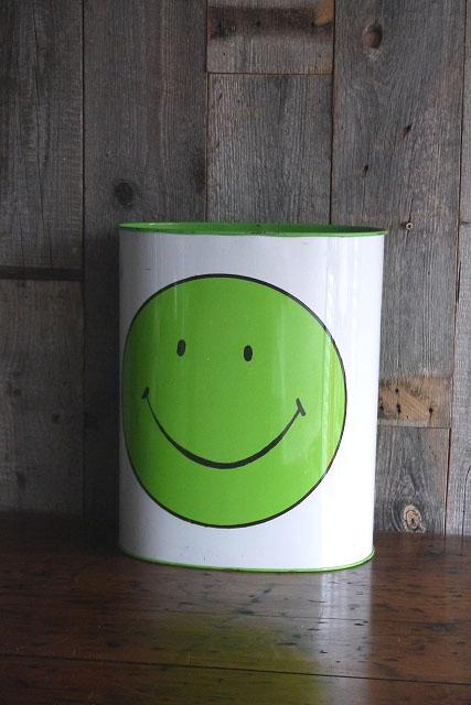 画像1: ビンテージ SMILE TRASHI缶 (1)