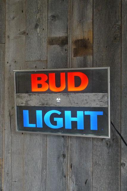 画像1: ビンテージ BUD LIGHT ライトサイン (1)