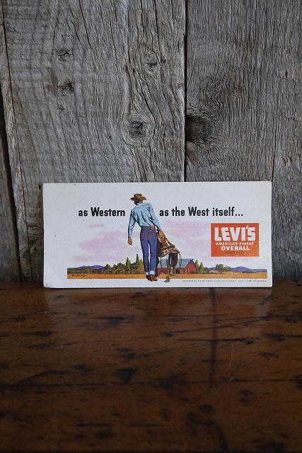 画像1: ビンテージ LEVIS インクブロッター  A (1)