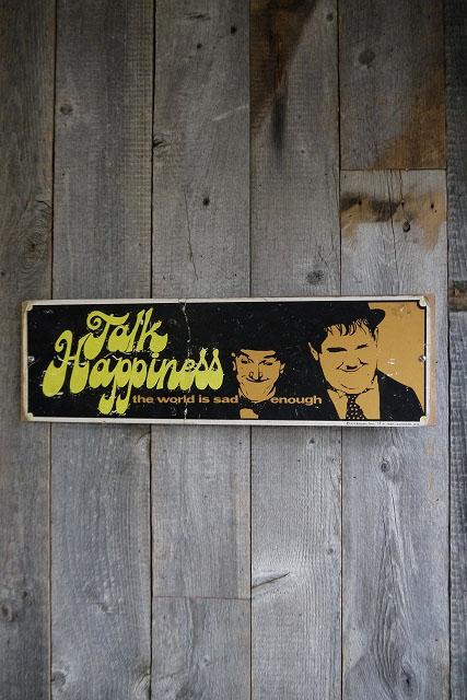 画像1: ビンテージ Laurel &Hardy 壁掛け (1)