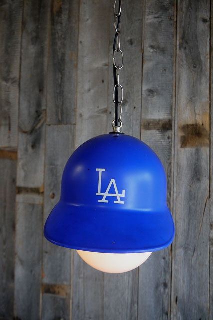 画像1: ビンテージ LA Dogers リメイクランプ (1)