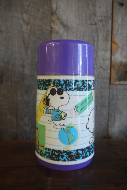 画像1: ビンテージ SNOOPY 水筒 (1)